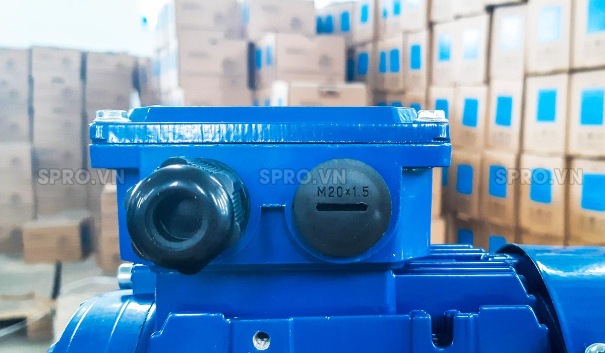 Tụ điện động cơ điện motor Elektrim EM71B-4 3 pha công suất 0.5 HP