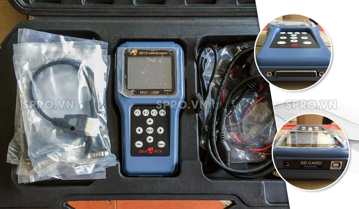 Máy chuẩn đoán lỗi xe máy MST-100P, máy đọc xóa lỗi các dòng xe FI