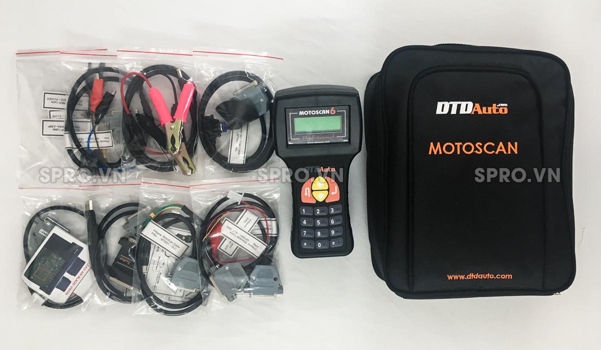 motoscan 6.2 - thiết bị xác định lỗi xe máy phun xăng điện tử