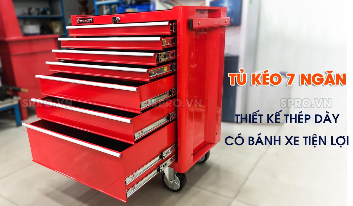 tủ kéo 7 ngăn, tủ kéo đựng dụng cụ