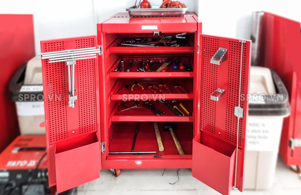 Tủ đồ nghề - dụng cụ sửa chữa xe máy các loại