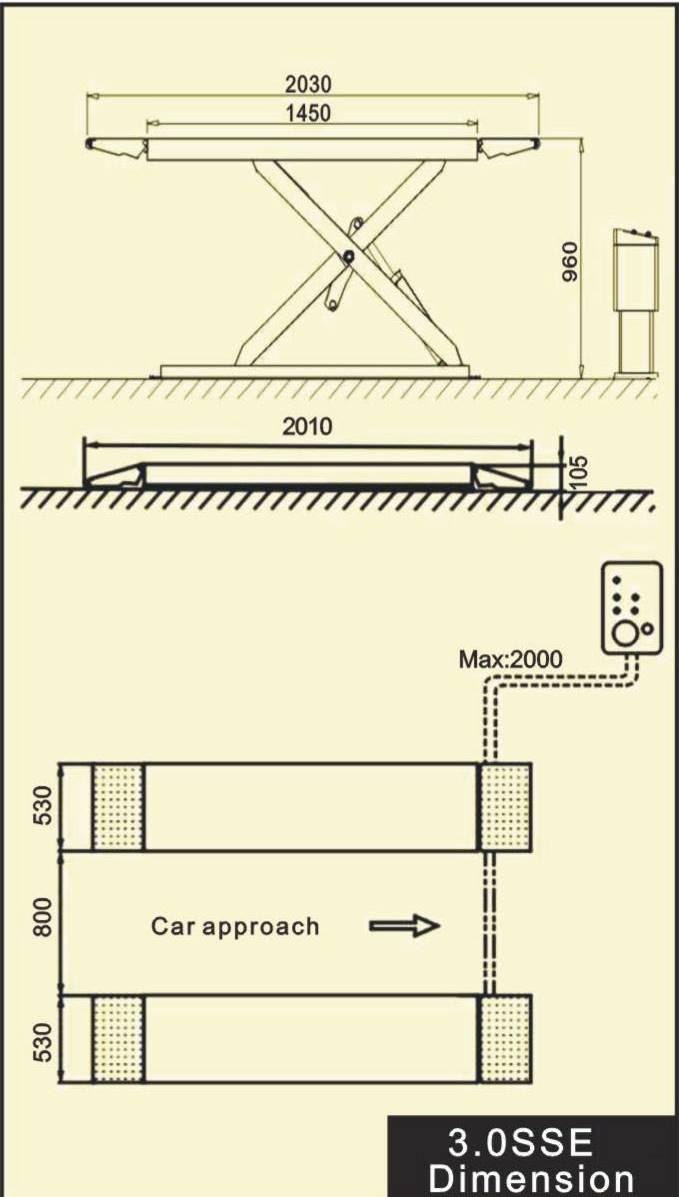 Cầu nâng cắt kéo, cầu nâng kiểu xếp