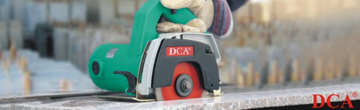 Máy cắt đá DCA AZE110