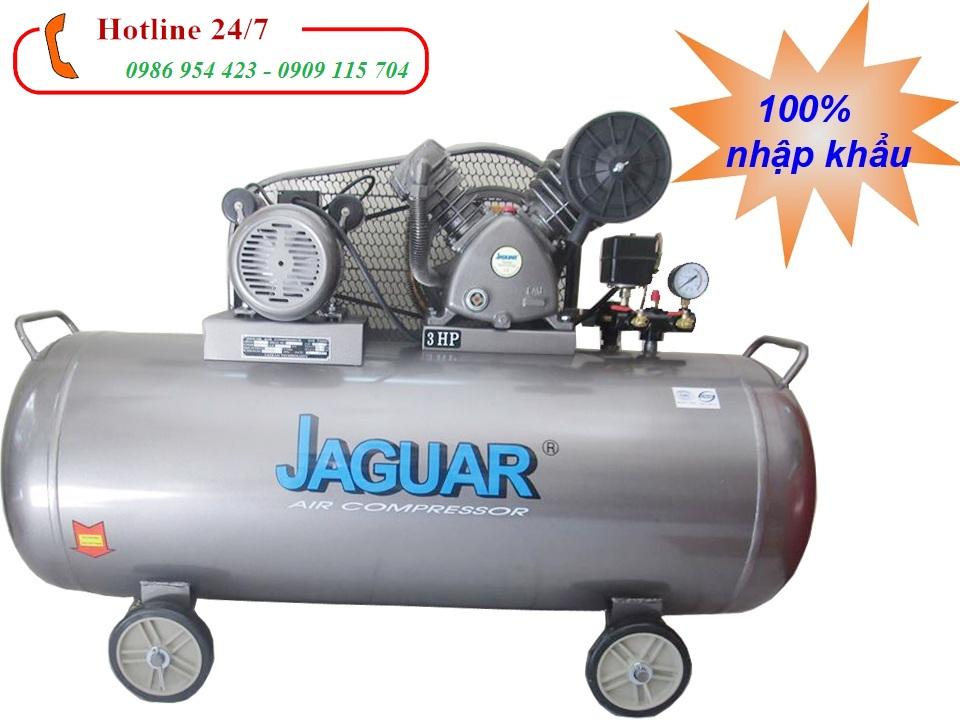 Máy nén khí piston jaguar 3HP HEV70H200-Dung tích 200L