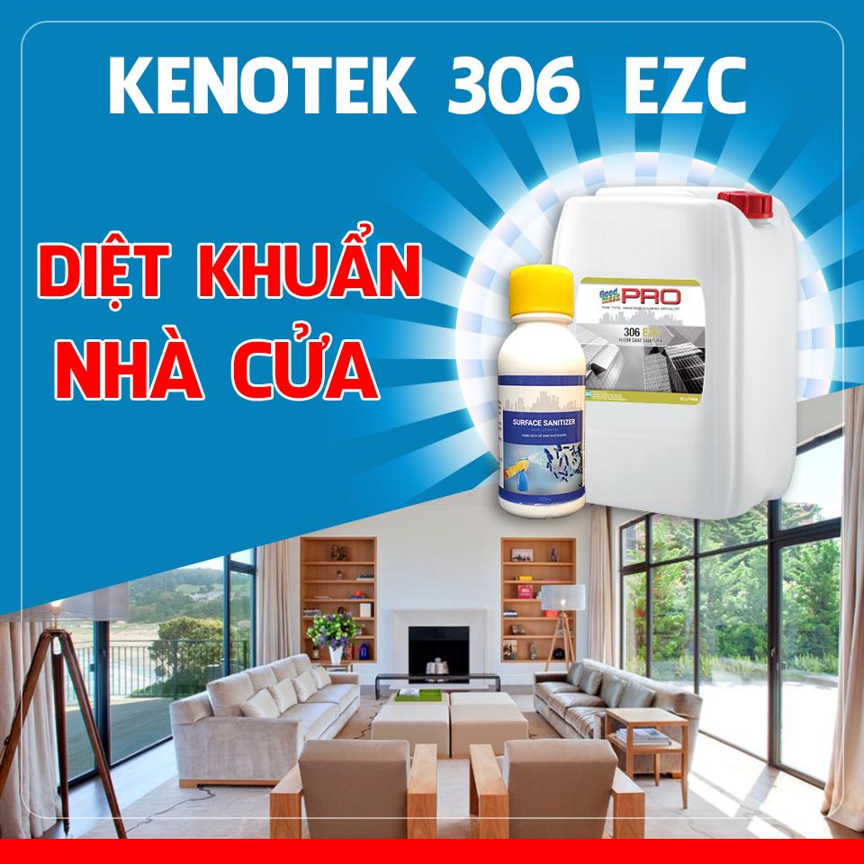 dung dịch diệt khuẩn nhà cửa 306 EZC