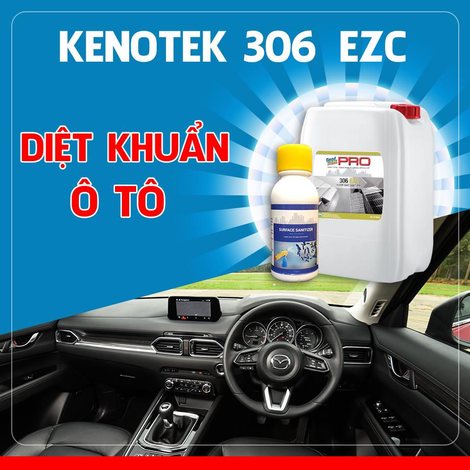 dung dịch khử khuẩn ô tô 306 EZC