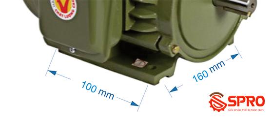 Mô tơ động cơ điện Hồng Ký HKM1.514 1 pha công suất 1.5 HP