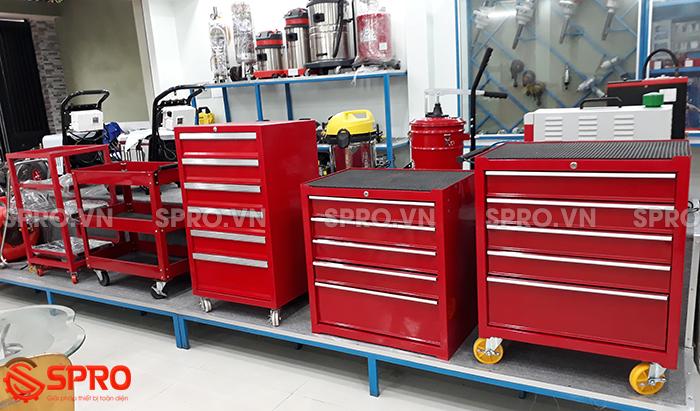 Tủ đựng đồ nghề - Xe đẩy dụng cụ - Tủ kéo 3 - 5 - 7- 10 ngăn