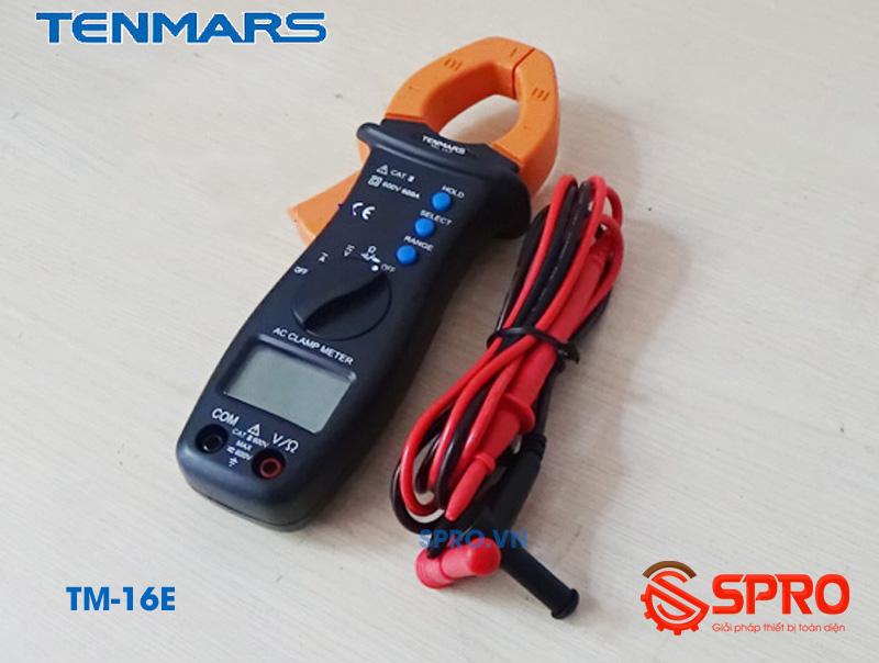 Ampe kìm - Ampe kềm Tenmars TM-16E (600A/600V)