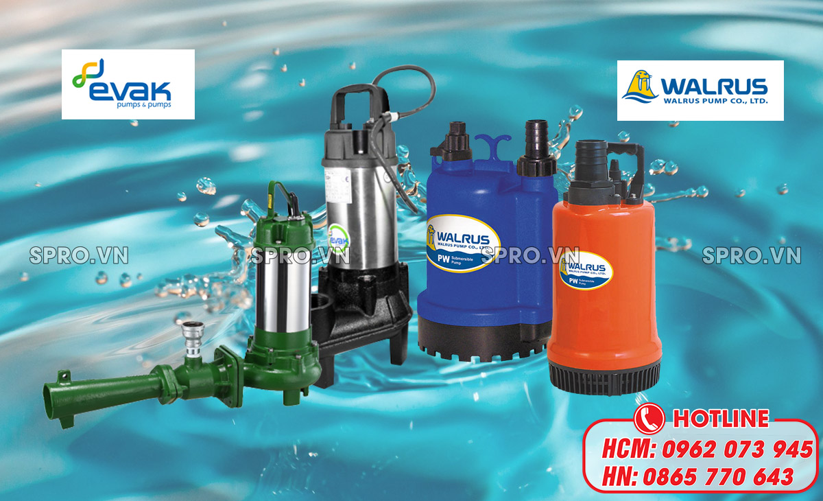 các loại máy bơm chìm nước sạch