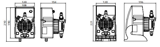 bản ve Máy bơm định lượng ETATRON DLX0507