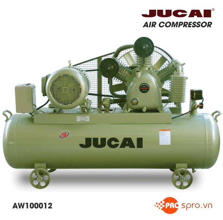 máy bơm hơi, Máy nén khí Jucai 15HP 2 cấp AW100012 - Dung tích bình 500L