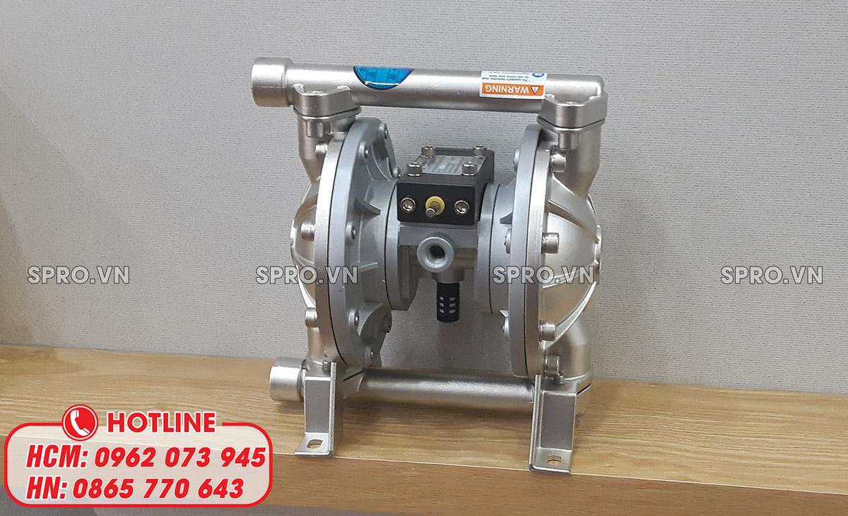 máy bơm xăng dầu thân inox