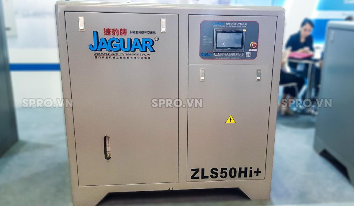 Máy nén khí trục vít biến tần 50hp Jaguar ZLS50Hi+ 37kw
