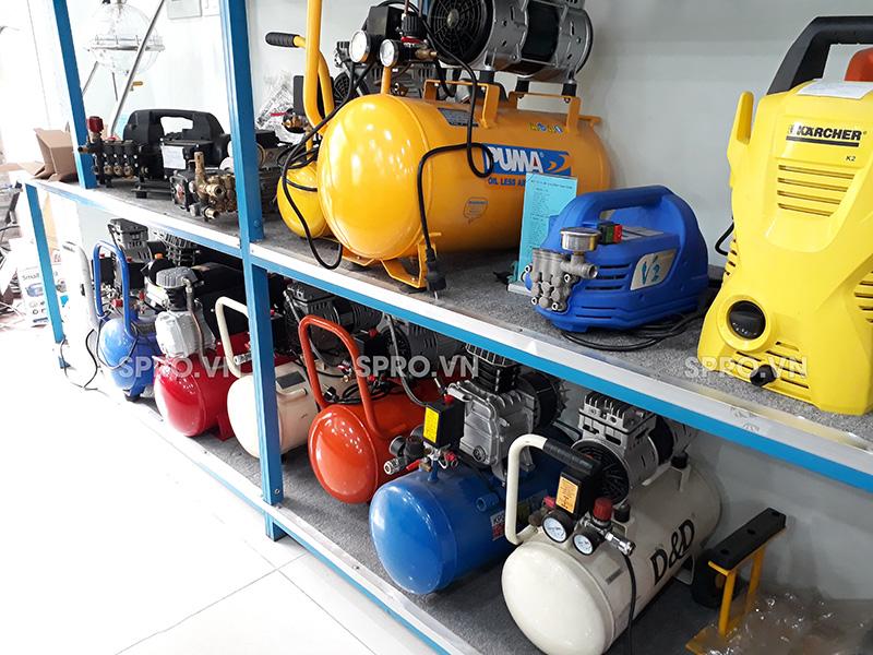 Máy nén khí mini, máy bơm hơi gia đình giá rẻ