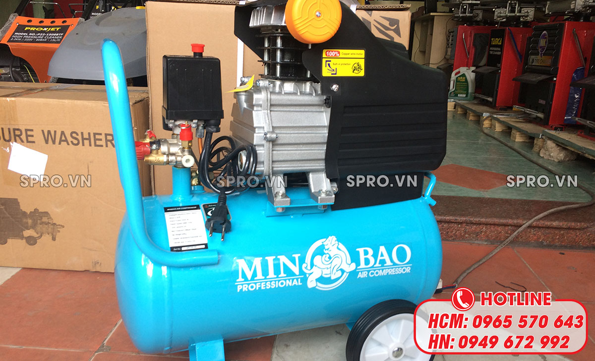 Máy nén khí mini có dầu là gì