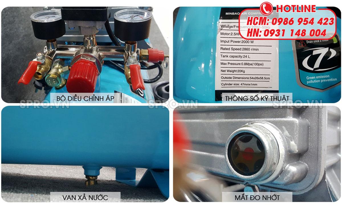 Những lưu ý khi sử dụng máy nén khí loại có dầu