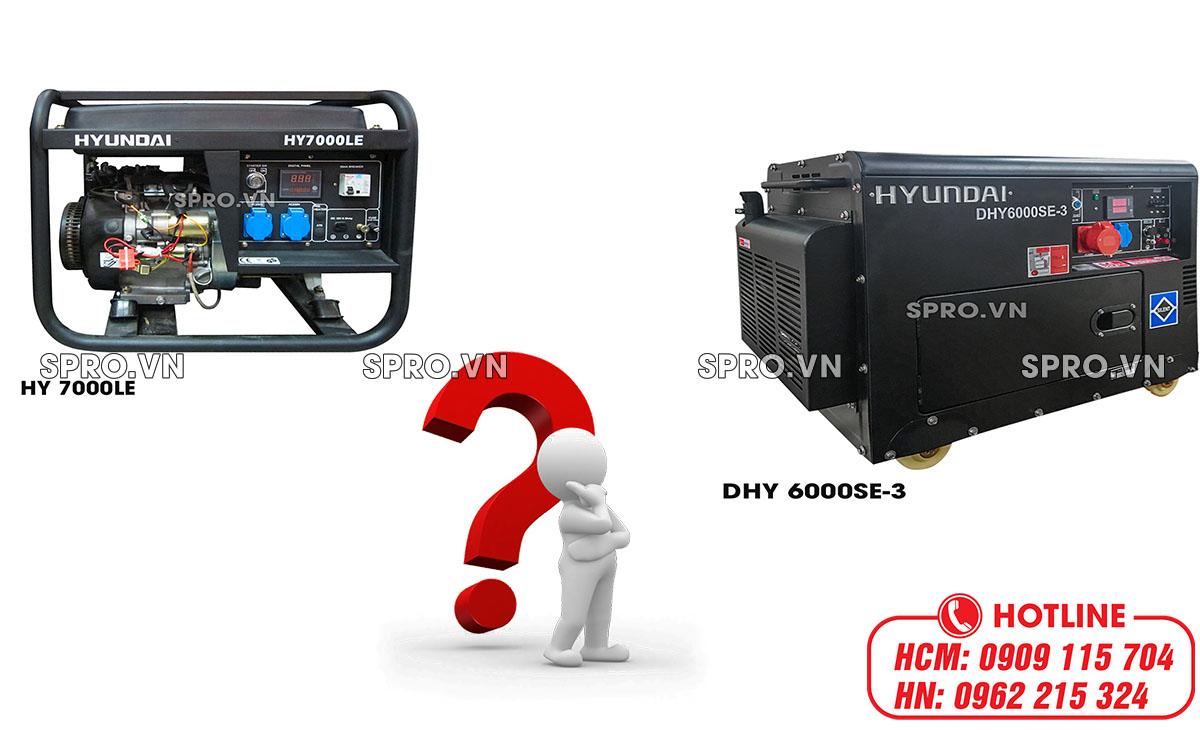 phân biệt máy phát điện 1 pha và 3 pha