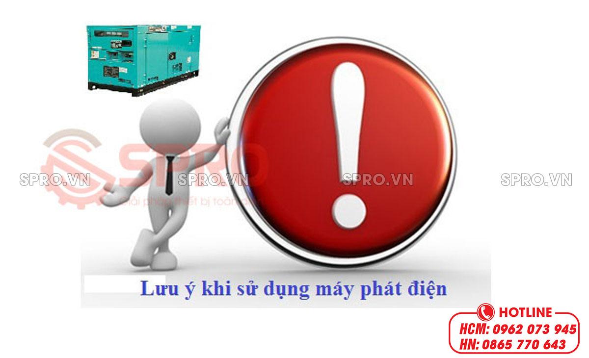 lưu ý sử dụng máy phát điện 3 pha
