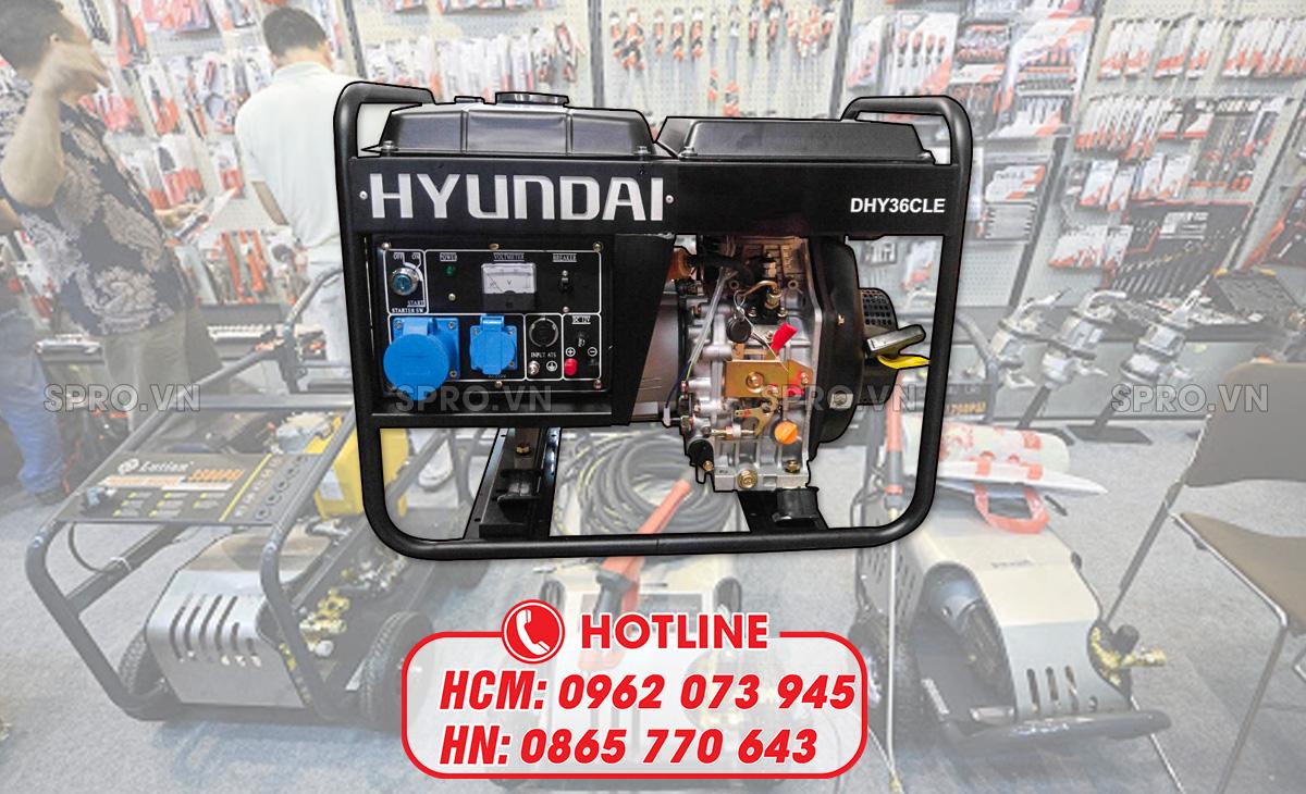 địa chỉ bán máy phát điện hyundai
