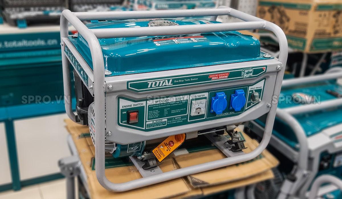 máy phát điện chạy xăng gia đình total