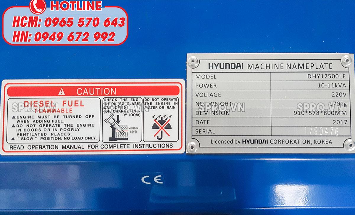 lưu ý khi mua máy phát điện chạy dầu