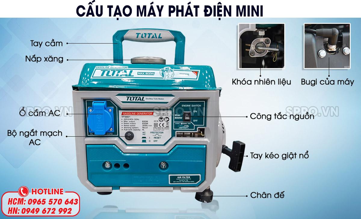cấu tạo máy điện mini