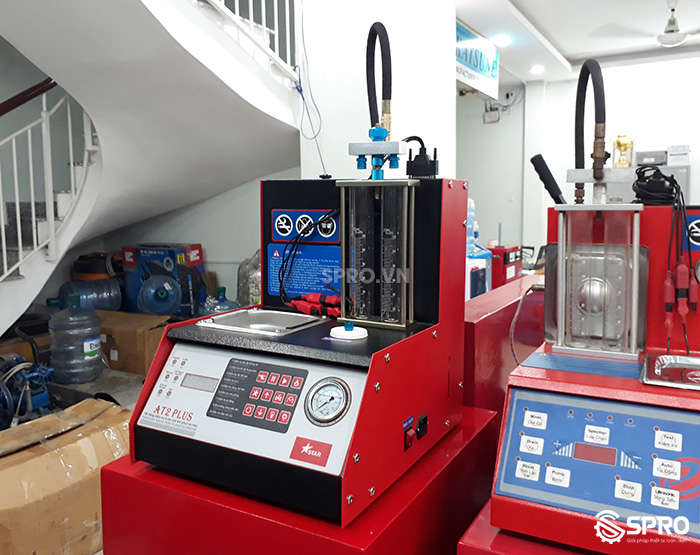 Máy kiểm tra và súc rửa kim phun xăng xe máy AT2 Plus