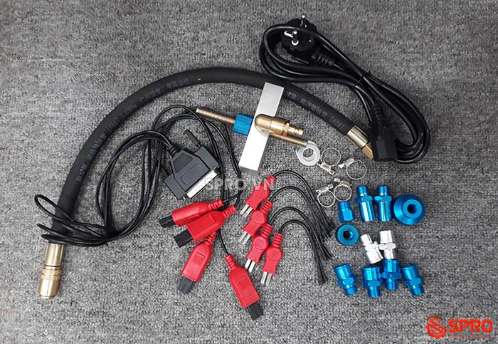 phụ kiện Máy kiểm tra và súc rửa kim phun xăng xe máy AT2 Plus