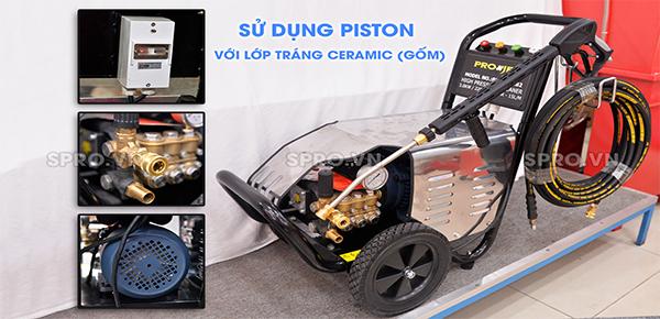 máy rửa xe áp lực cao projet P30