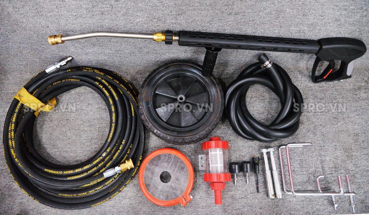 phụ kiện máy rửa xe cao áp