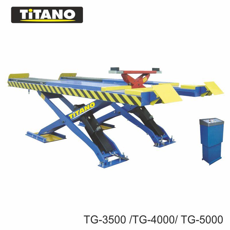 Bàn nâng Titano TG3500 có bàn nâng chắc chắn và rộng