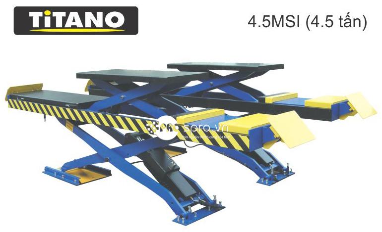 Cấu tạo của cầu nâng cắt kéo