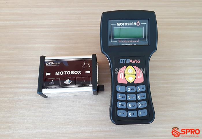 Máy chuẩn đoán lỗi xe máy - thiết bị đọc xóa lỗi xe phun xăng điện tử