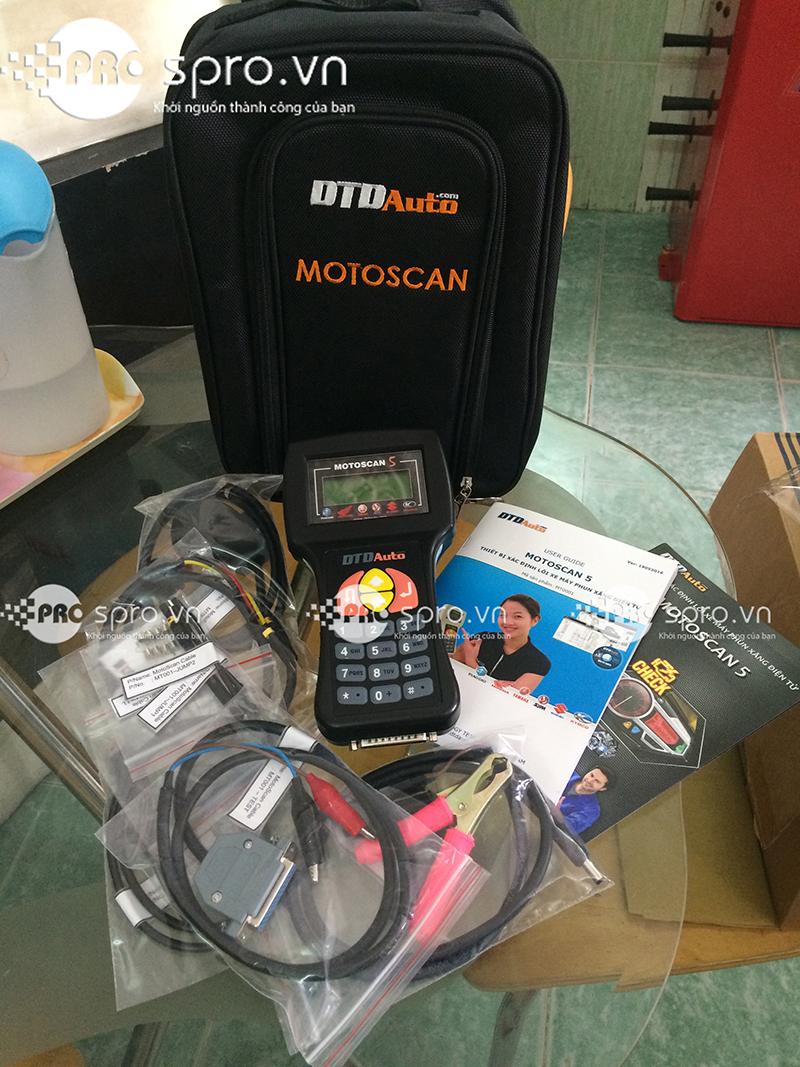 MOTOSCAN - Thiết bị xác định lỗi mô tô, xe máy phun xăng điện tử