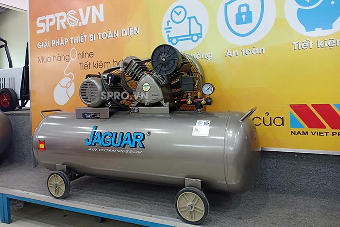 Máy nén khí 3hp 2 cấp Jaguar HEV70H160 bình chứa 160L