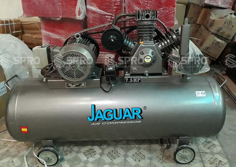 Máy nén khí piston 2 cấp nén 7.5HP Jaugar HET80H300 - Dung tích 300L
