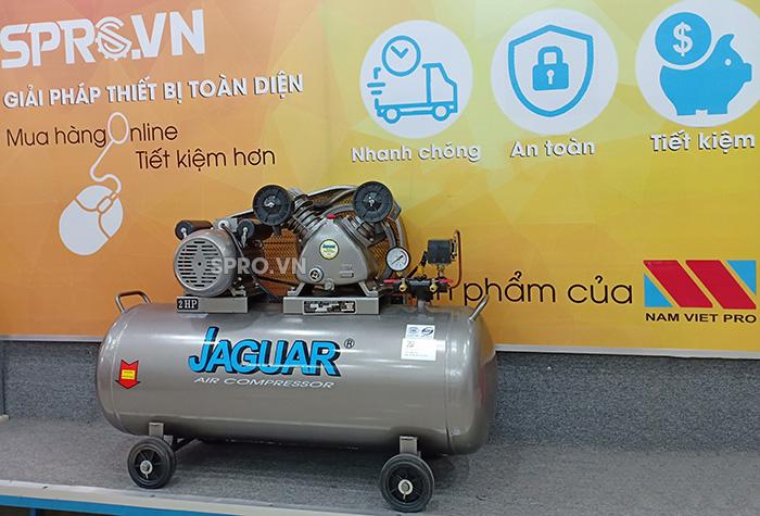 Máy nén khí piston 2HP 1 cấp Jaguar EV51H100 - Dung tích 100L