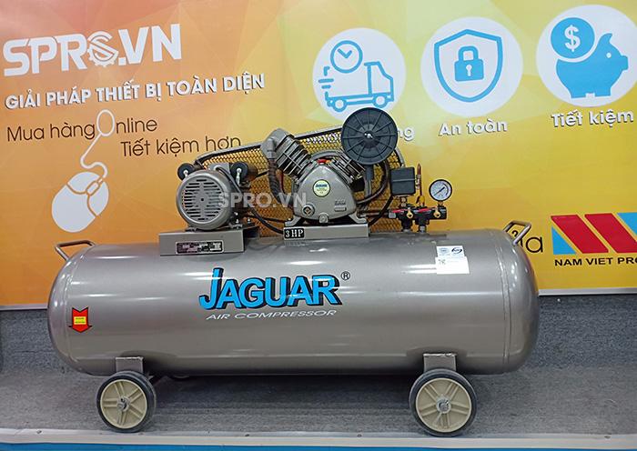 Máy nén khí piston 3HP 2 cấp Jaguar HEV70H160 - Bình chứa 160L