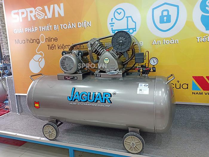 Máy nén khí piston 3hp jaguar HEV70H200 dung tích 200L