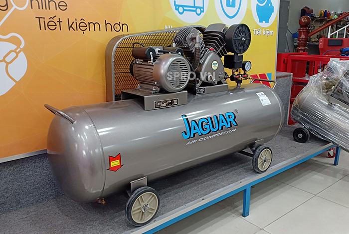 Máy nén khí piston Jaguar HEV70H160 công suất 3hp bình chứa 160L