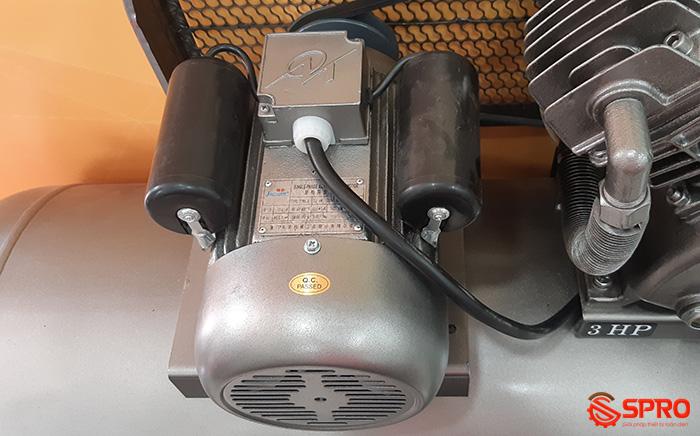 Mô tơ Máy nén khí piston Jaguar HEV70H160 công suất 3hp bình chứa 160L