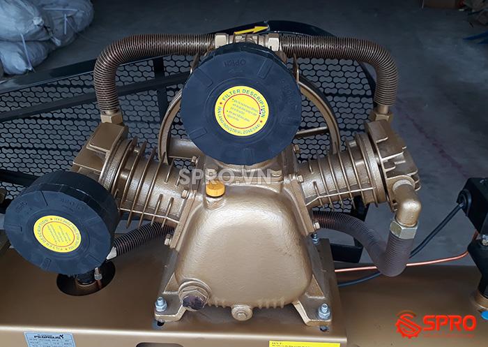Đầu nén Máy bơm hơi 7.5HP Pegasus TM-W-0.67/12.5-330 - Dung tích 330L giá rẻ