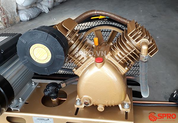 Đầu bơm Máy nén khí 3HP PEGASUS TM-V-0.25/12.5-120L - Dung tích 120L