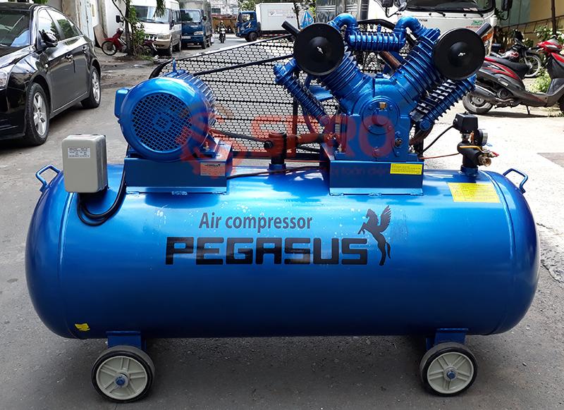 máy nén khí, Máy bơm hơi 10HP Pegasus TM-V-1.05/12.5-500L dung tích 500L