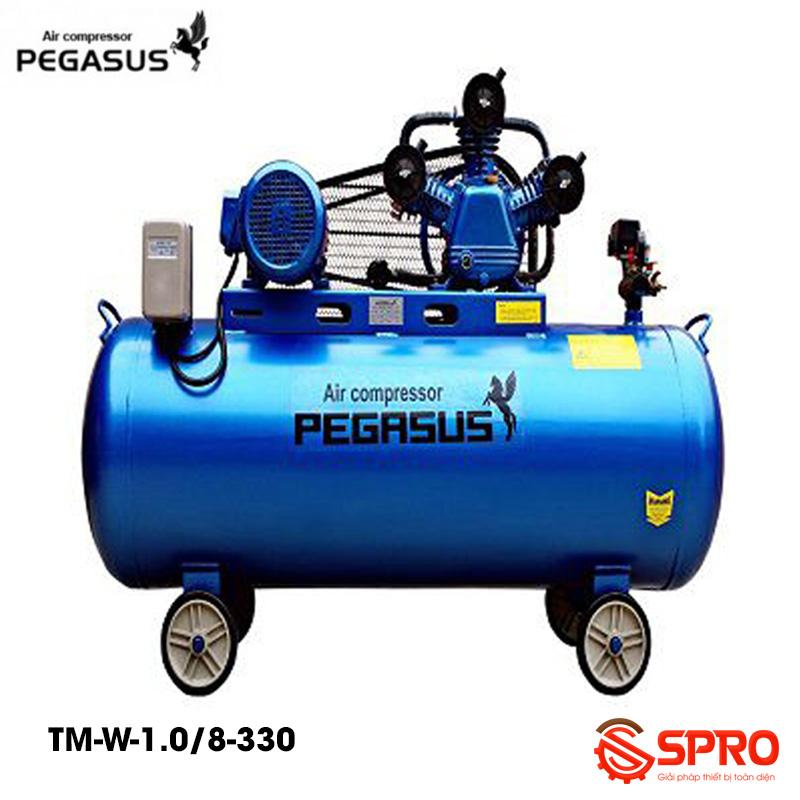 Máy bơm hơi 10HP giá rẻ Pegasus TM-W-1.0/8-330 dung tích 330L