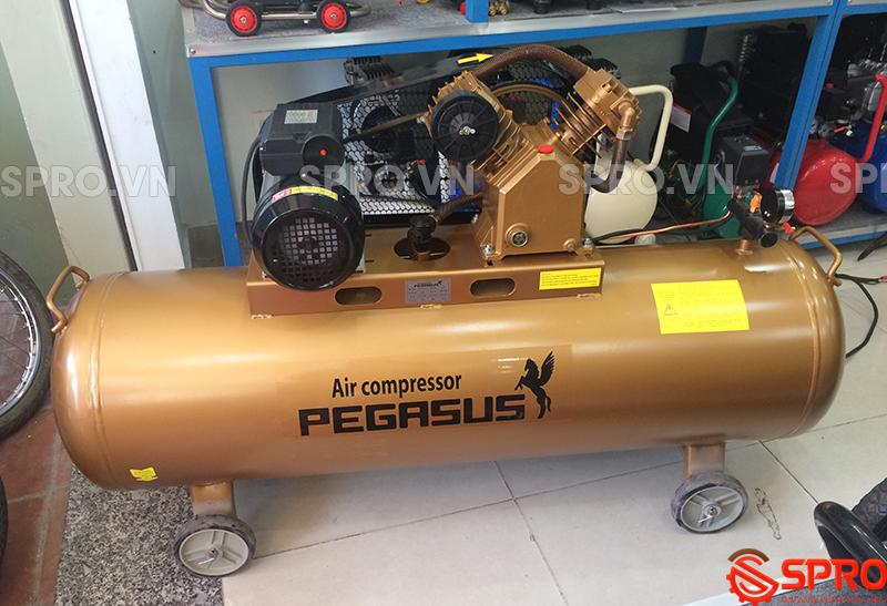 máy nén khí, Máy bơm hơi Pegasus 3hp TM-V-0.25/12.5-180L - Dung tích 180L