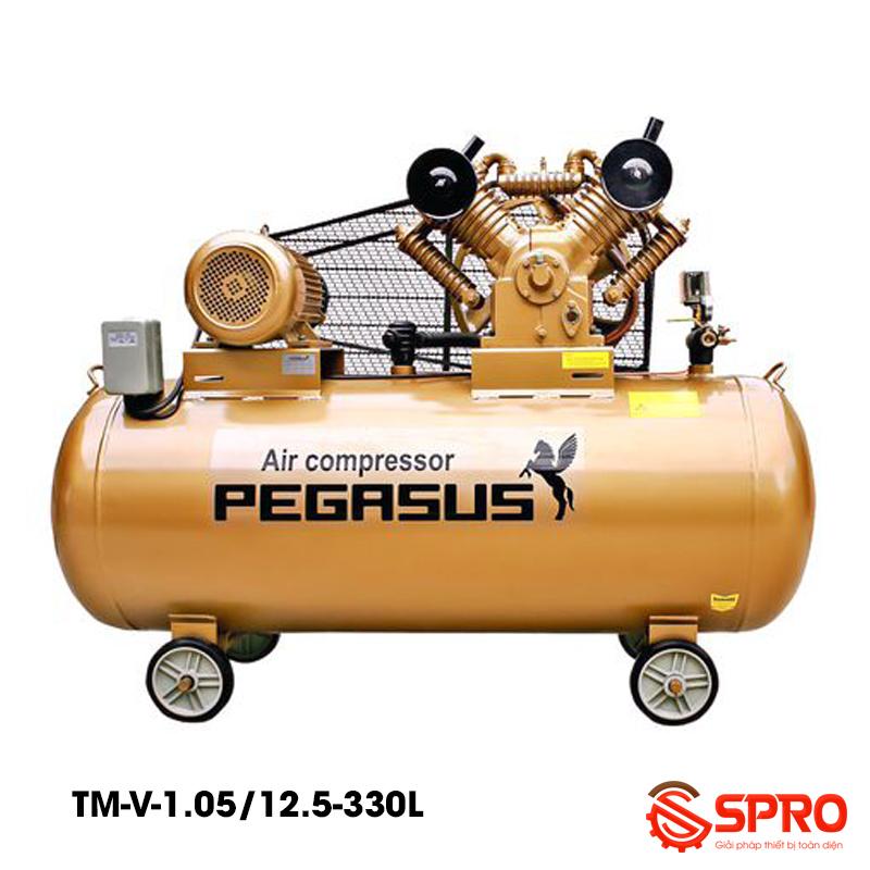 Máy nén khí 10HP Pegasus TM-W-1.05/12.5-330 dung tích 330L