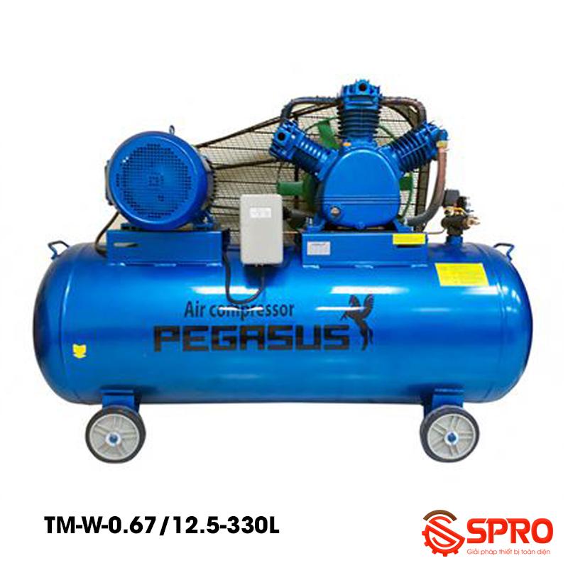 Máy nén khí 7.5HP Pegasus TM-W-0.67/12.5-330L dung tích 330L