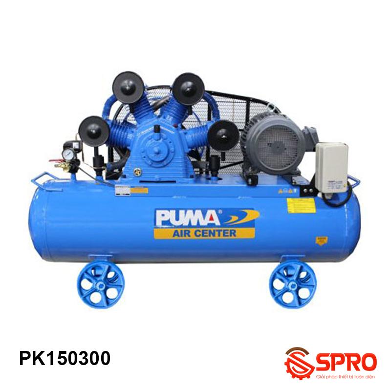 Máy nén khí Piston 15HP Puma PK150300 dung tích 300 lít